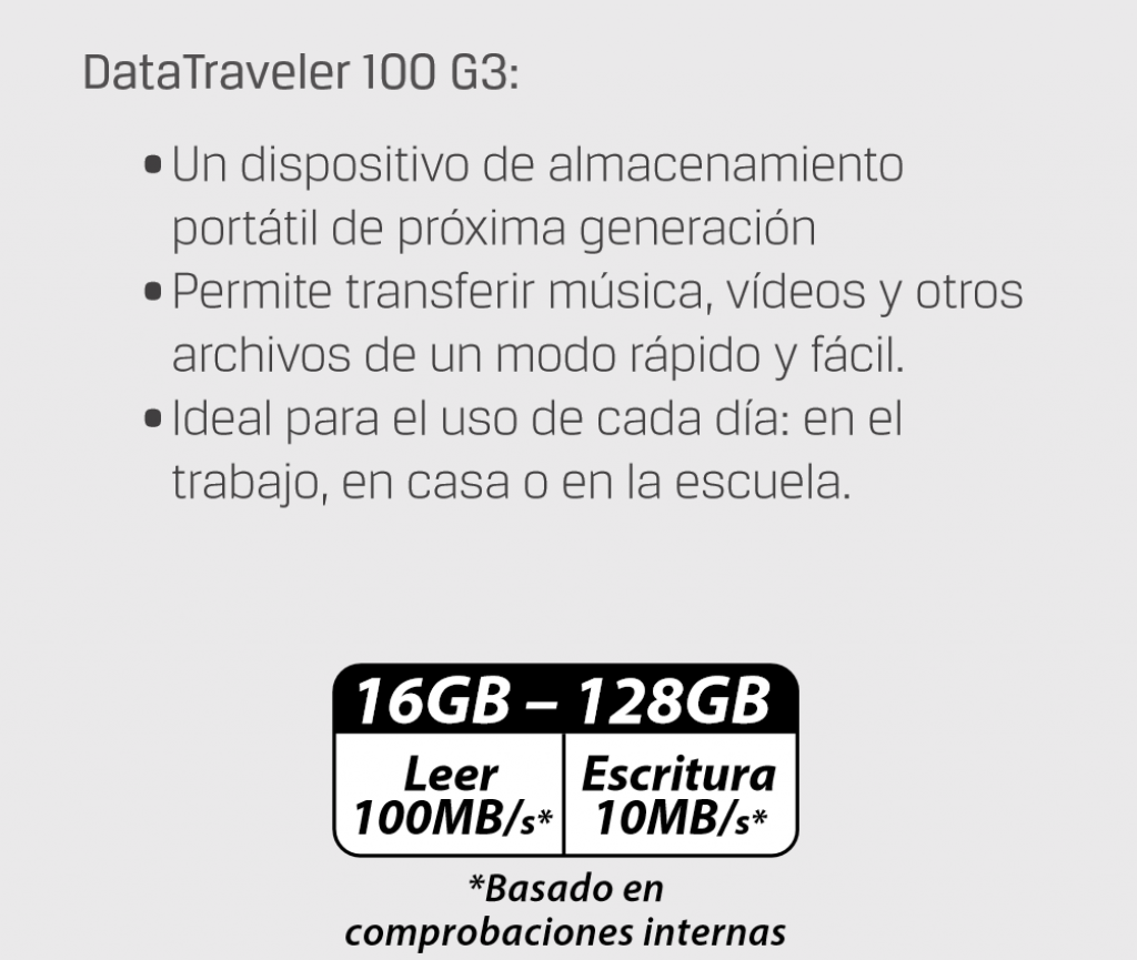 Kingston Datatraveler 100 G3