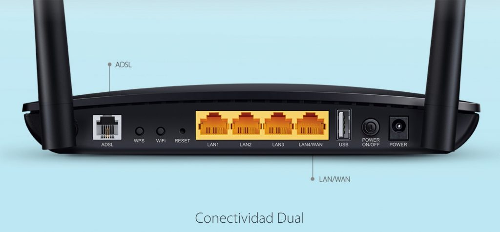 TP-LINK Archer D50, router Wi-Fi Dual-band