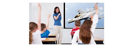 Plena potencia para ayudar a mantener la atención centrada en la pantalla