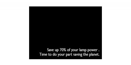 Fuente No Detectada, 70 por ciento menos de consumo eléctrico