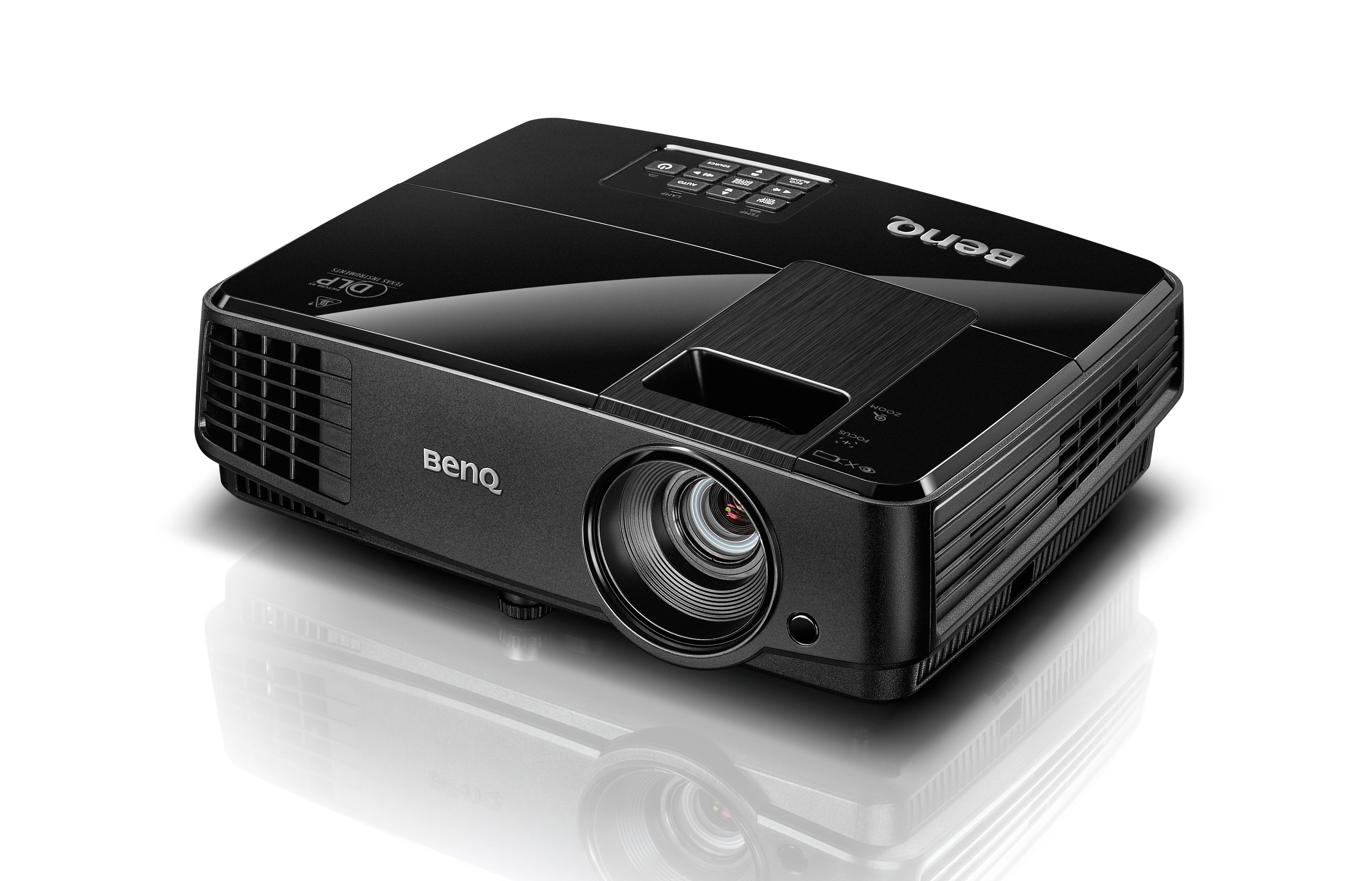 BENQ MS506, un proyector de 3200 lúmenes con gran tamaño