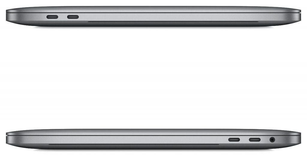 MacBook Pro, conectividad