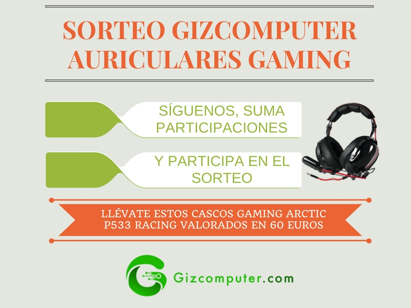 Sorteo Gizcomputer Arctic P533 Racing