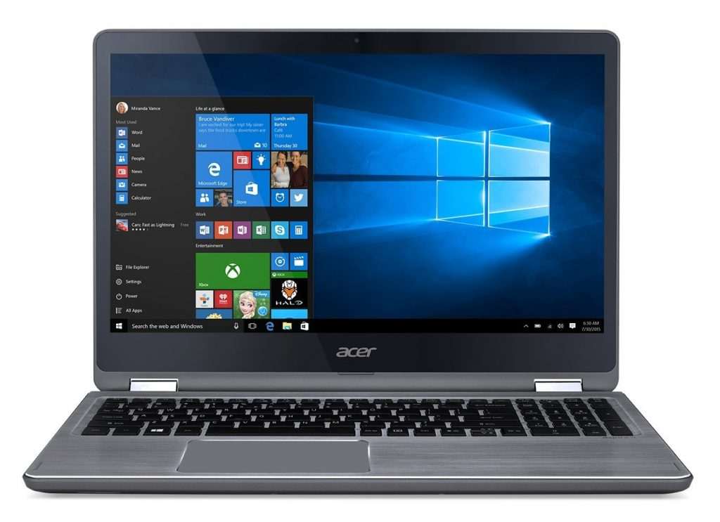Acer Aspire R5-571T-596H, pantalla