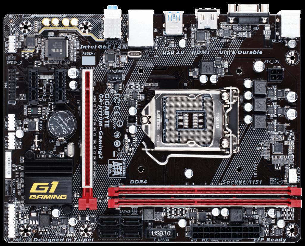 Gigabyte GA-H110-Gaming 3