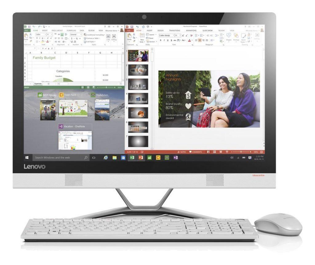 Lenovo IdeaCentre 300-23ISU, pantalla