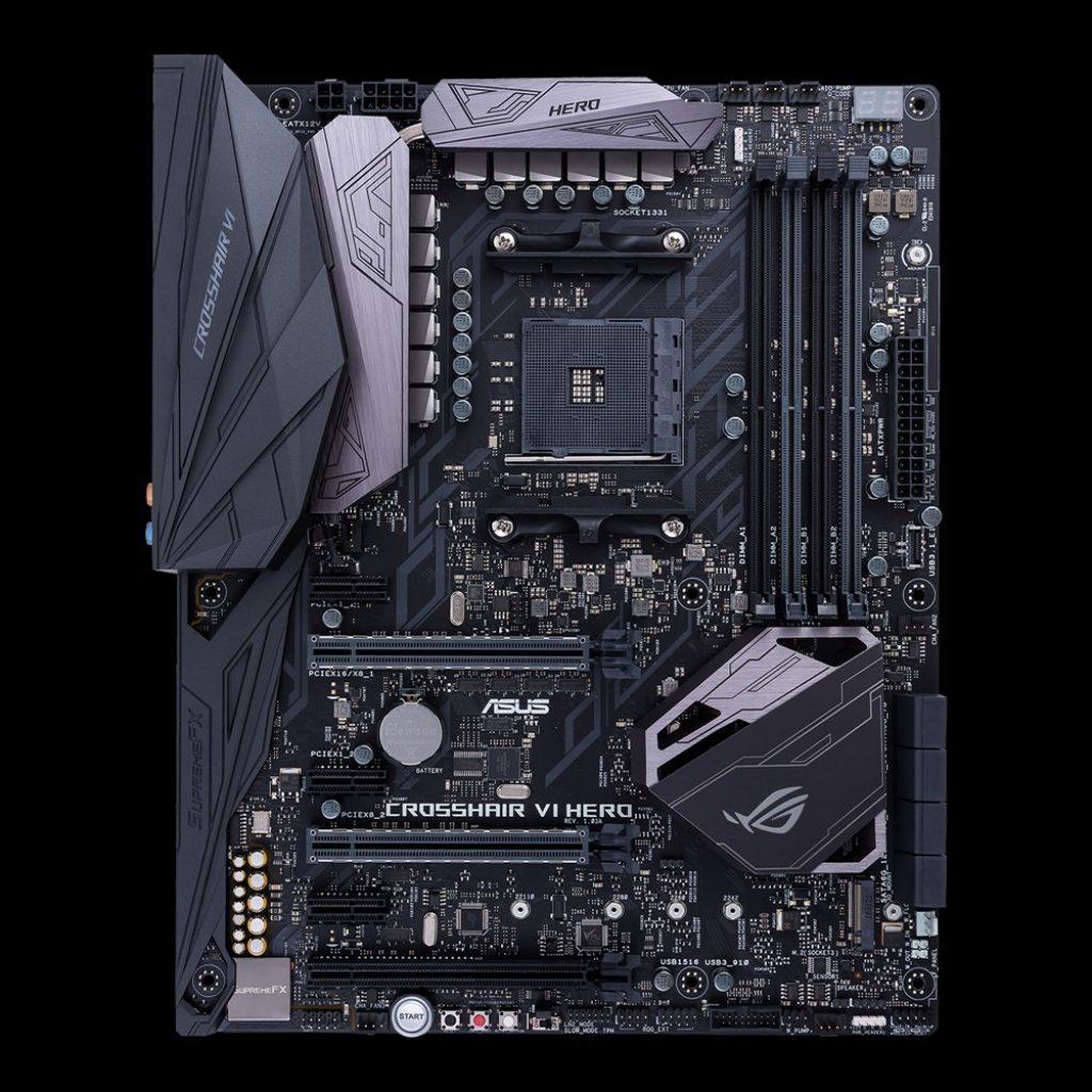 ASUS y ASUS Republic of Gamers nuevas series de placas base placas con zócalo AM4 de AMD de ASUS