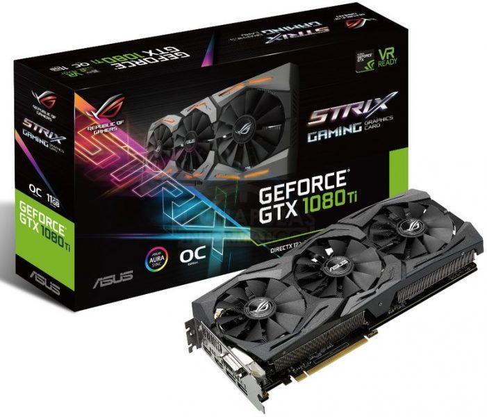 Asus Strix GeForce GTX 1080 Ti