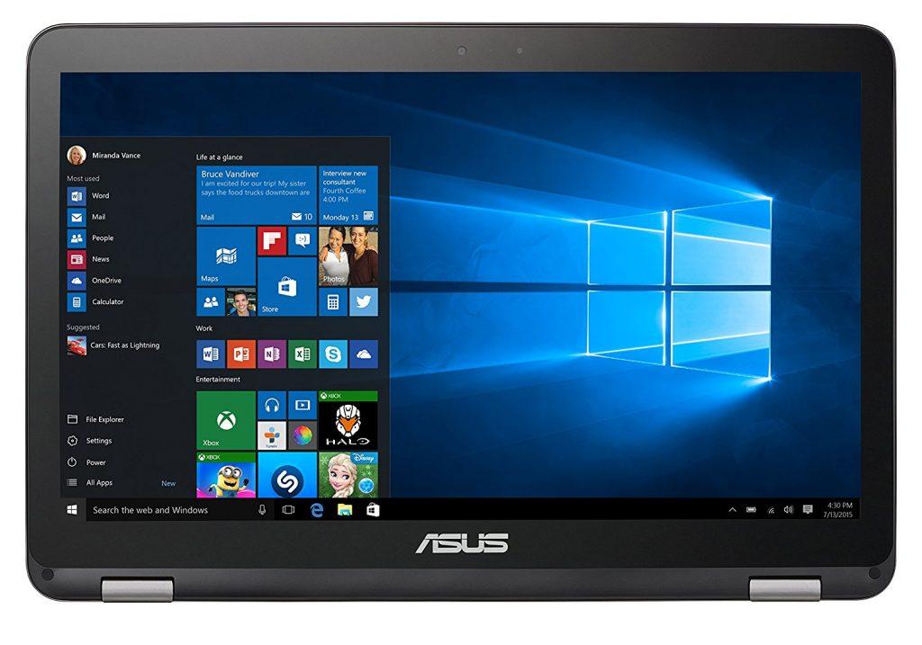 Asus Vivobook Flip TP501UQ-CJ012T, pantalla
