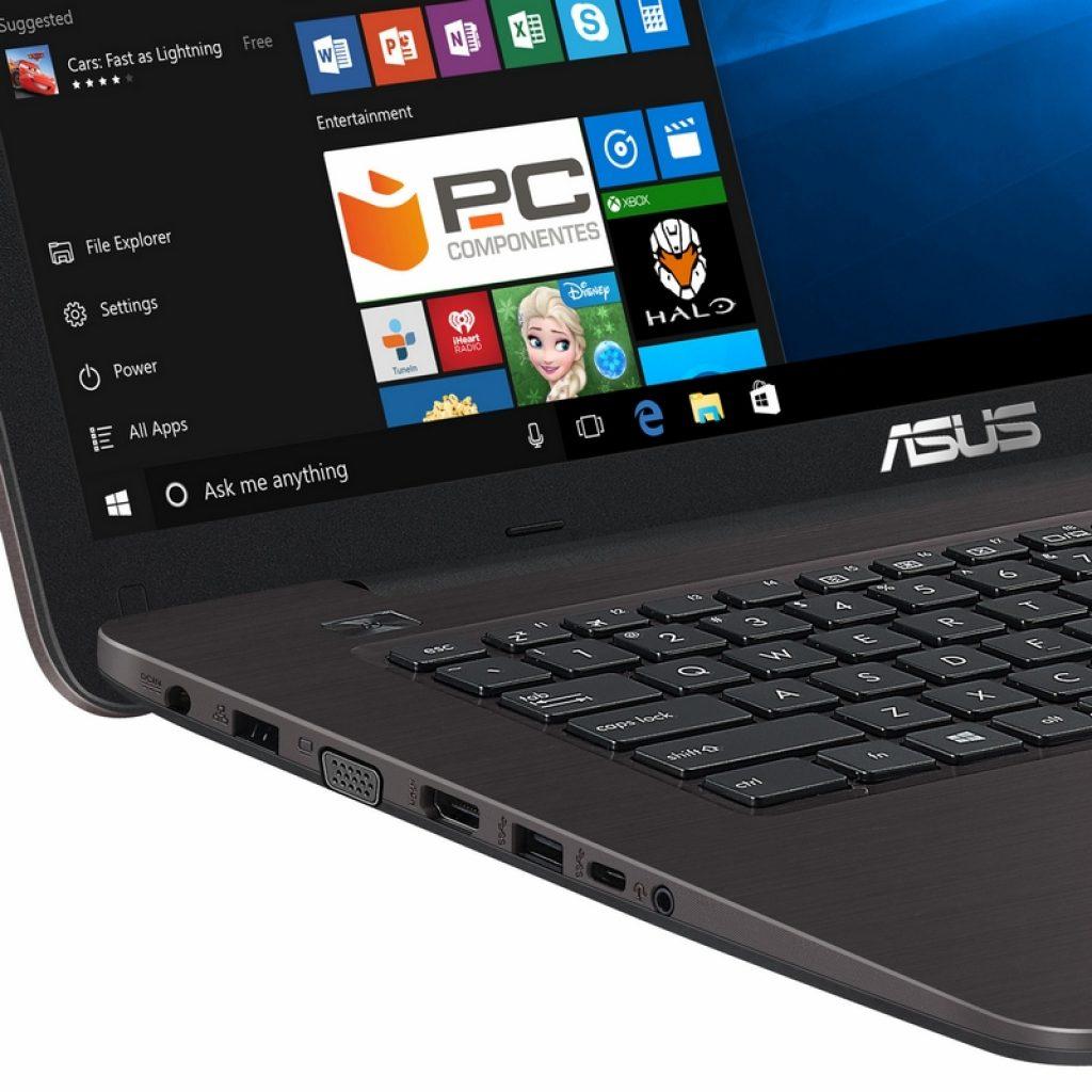 Asus X756UA-TY076T, conectividad