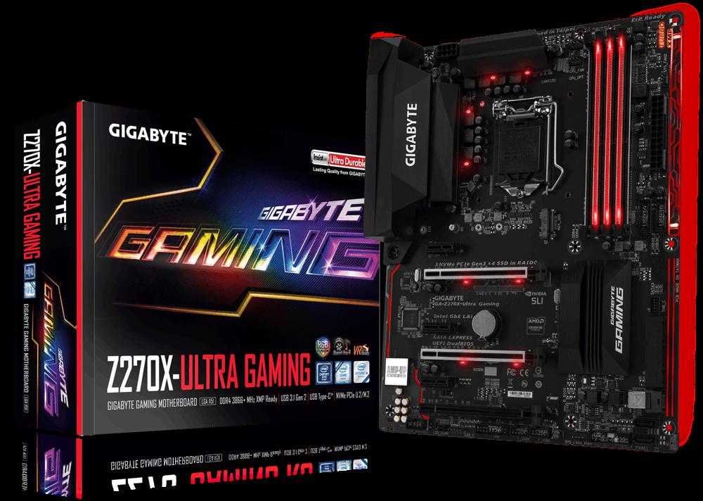 Gigabyte GA-Z270X-Ultra Gaming
