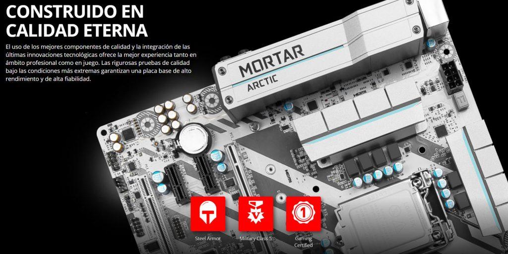 MSI H270M Mortar Arctic