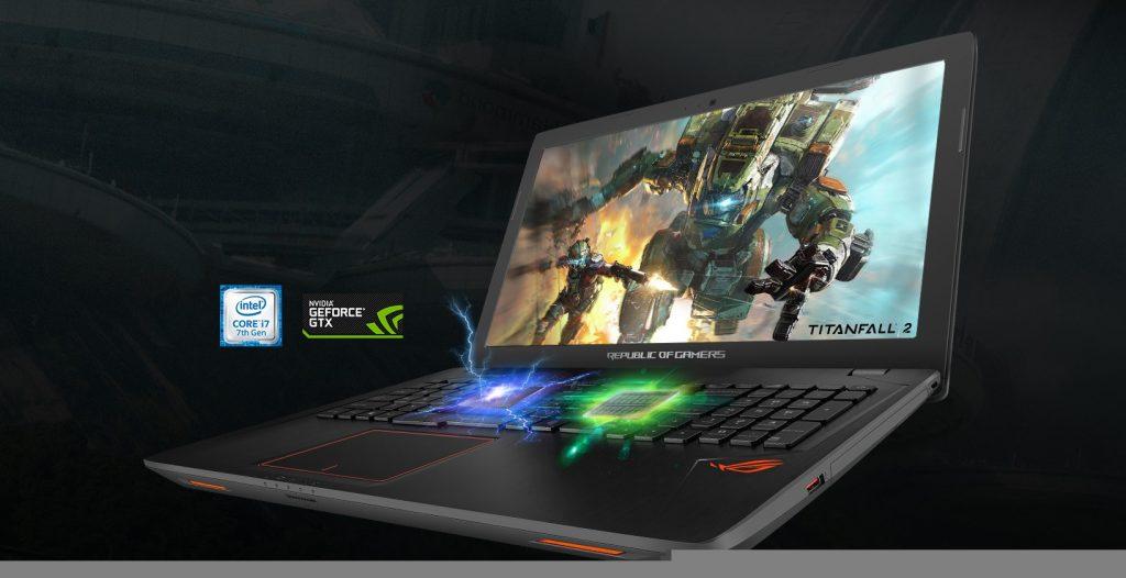 ASUS GL553VD-FY025T, hardware