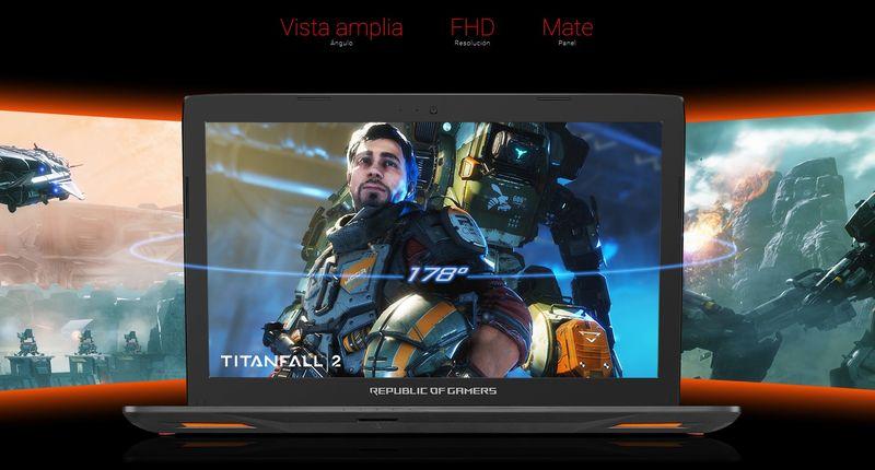 ASUS GL553VD-FY025T, pantalla