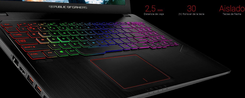 ASUS GL553VD-FY025T, teclado