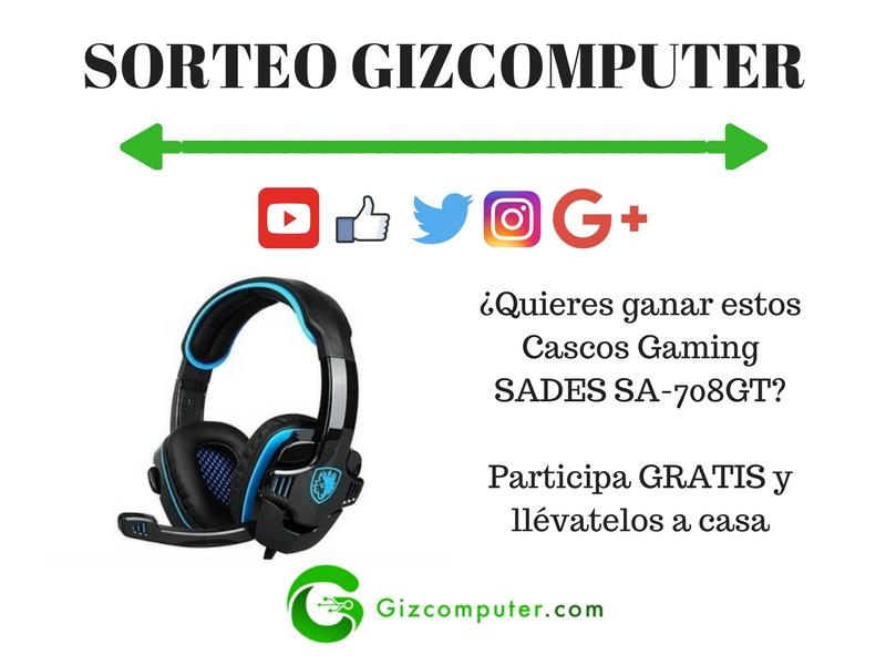 Cascos Gaming SADES SA-708GT