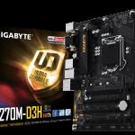 Gigabyte GA-Z270M-D3H