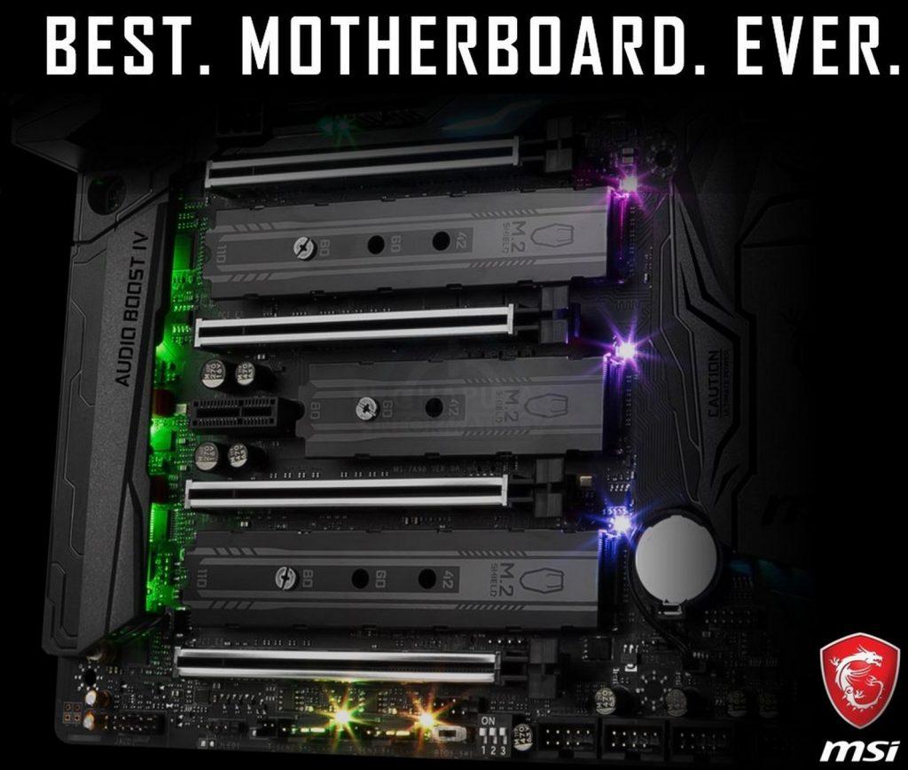 Una de las futuras placas X299 de la manos de MSI (MSI X299 GODLIKE Gaming Carbon)