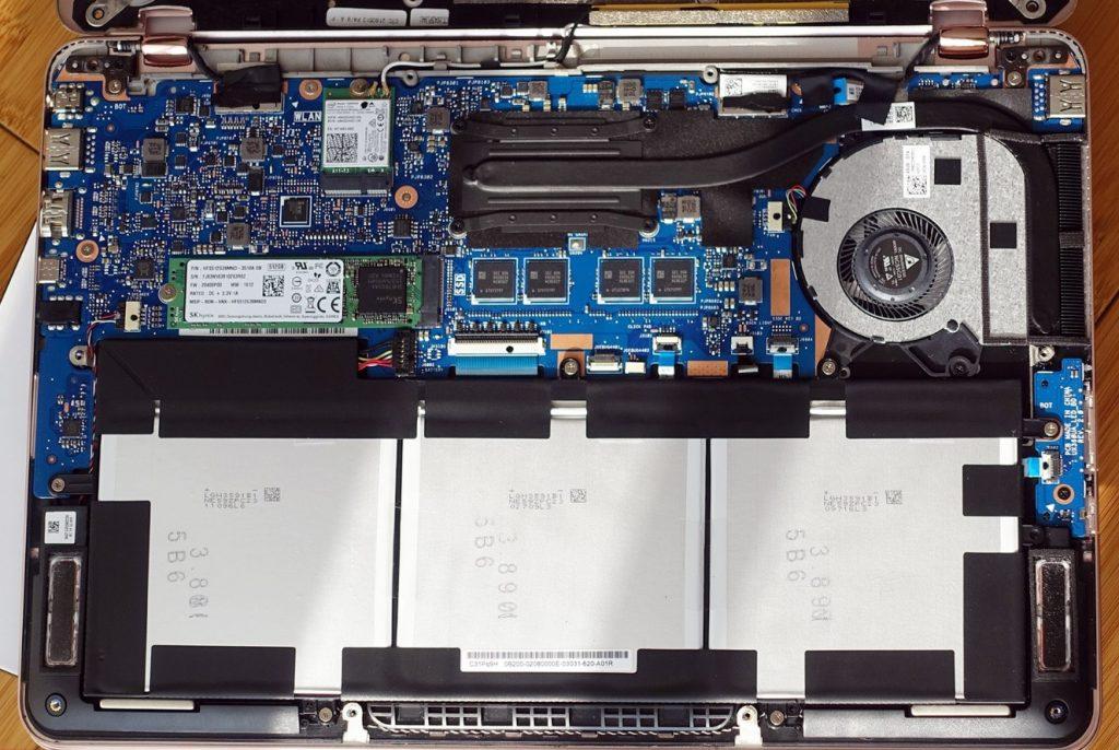 Gizcomputer-Asus Zenbook Flip UX360UA-interior