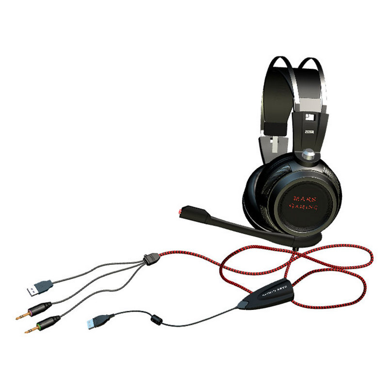Mars Gaming MH316, cables