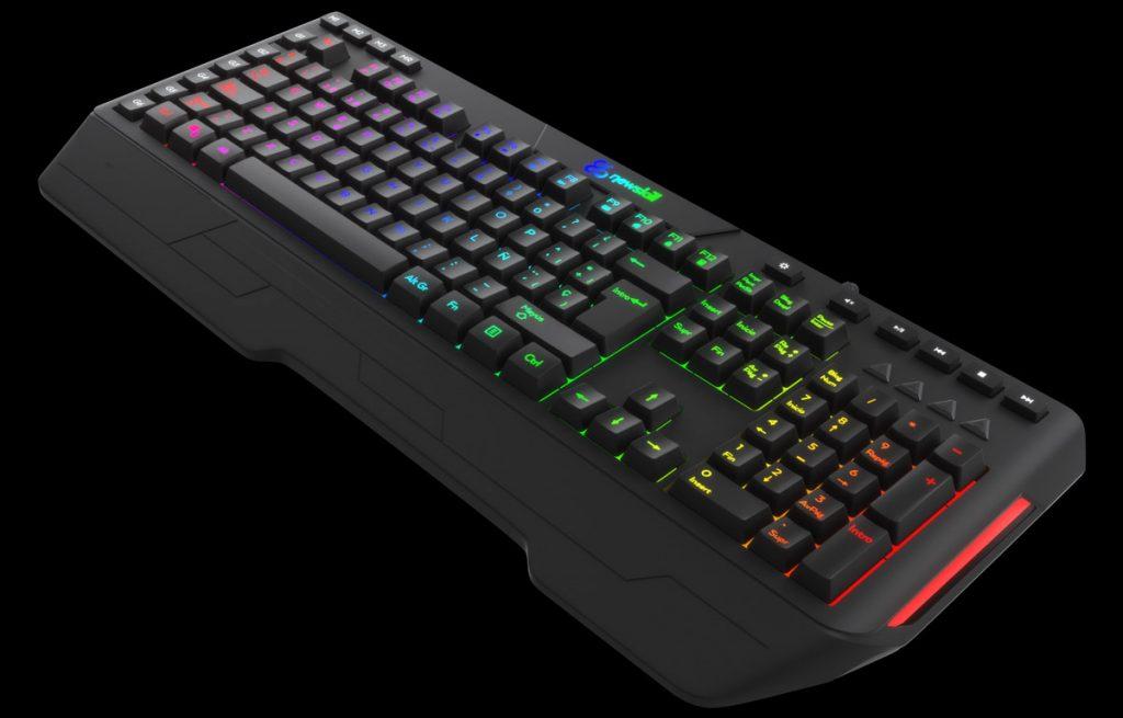 Newskill Seiryu, teclado híbrido