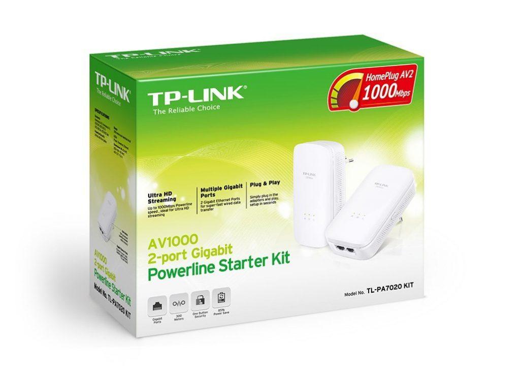 TP-Link TL-PA7020, homeplug AV2