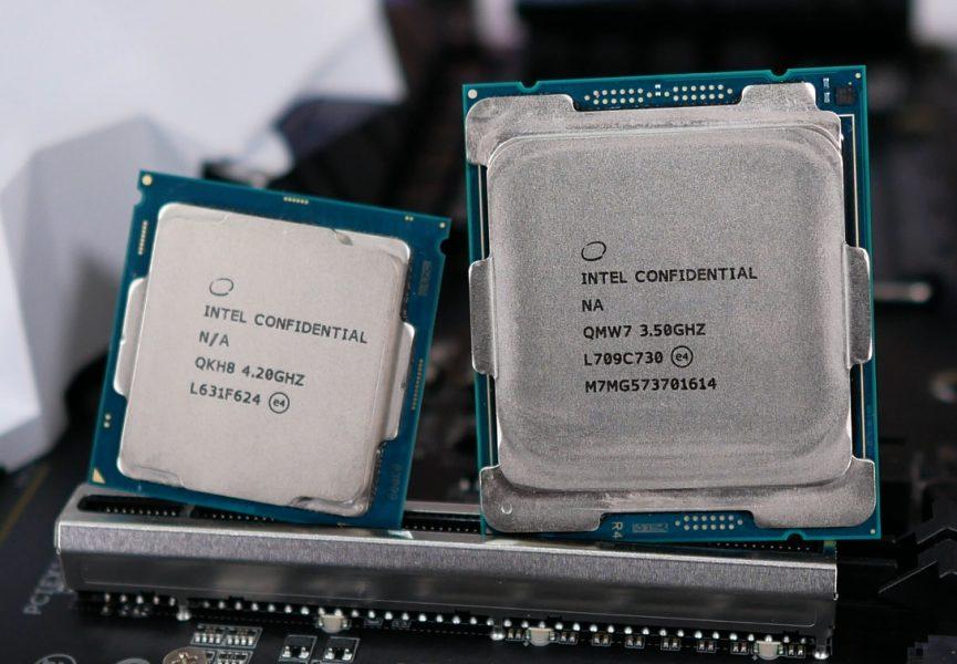 Gizcomputer-rendimiento Intel Core i7-7800X