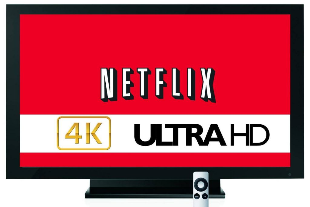 Monitor 4K, Netflix