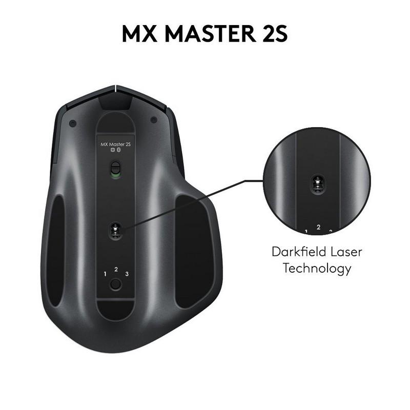 Logitech MX Master 2S, seguimiento