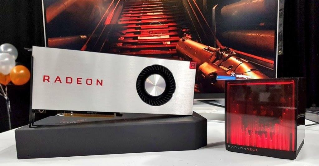 Radeon RX Vega 64 Limited Edition y Radeon Holocube