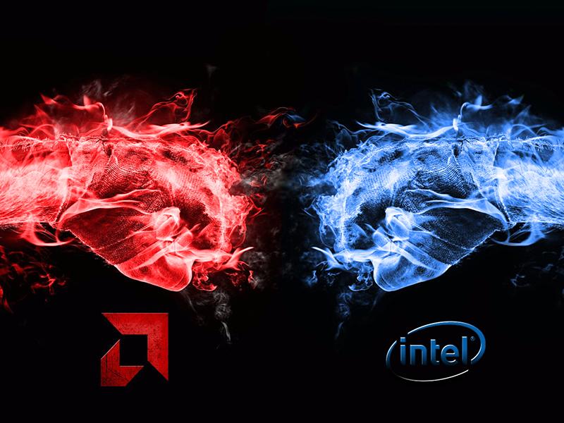 Core i7-8700K intel vs amd