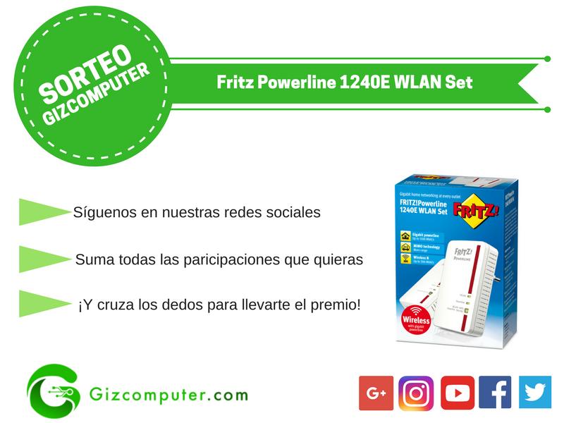 Sorteo Fritz Powerline 1240E WLAN Set