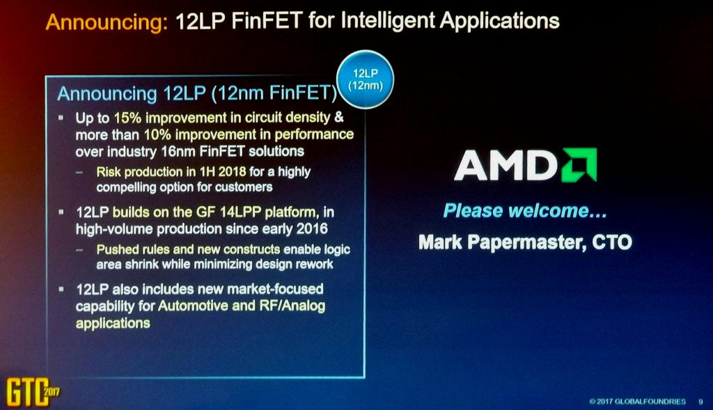 Globalfoundries Technical 12nm LP