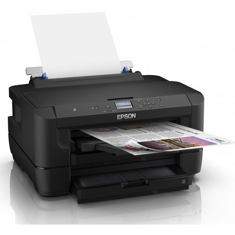 La Epson WorkForce WF-7210DTW es un modelo fiable y rápido, que ofrece impresión A3 a doble cara, con una velocidad de impresión de 18 páginas por minuto en blanco y negro, y 10 ppm en color.