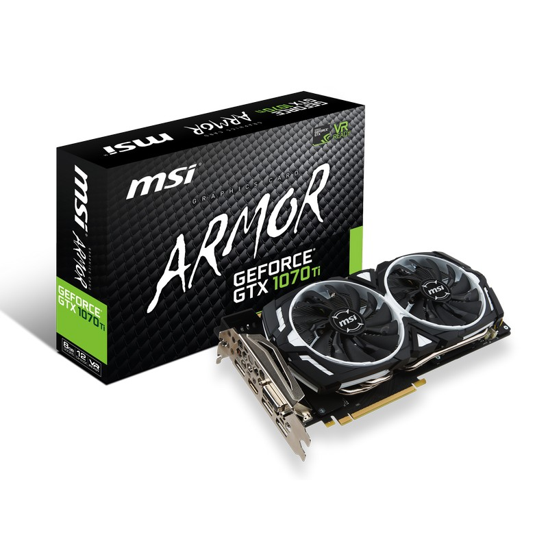 MSI GeForce GTX 1070 Ti Armor