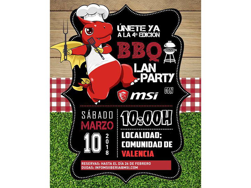 BBQ Party MSI Valencia