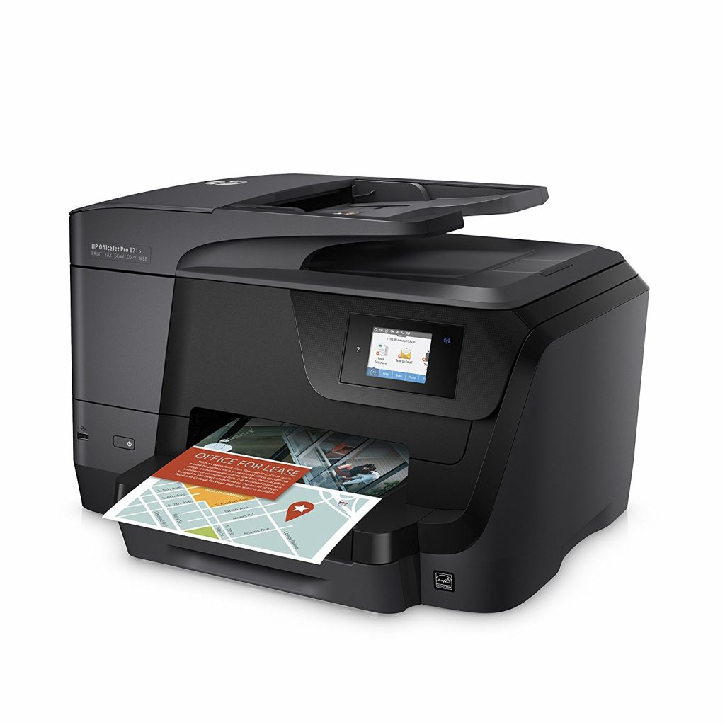 HP OfficeJet Pro 8715, doble cara
