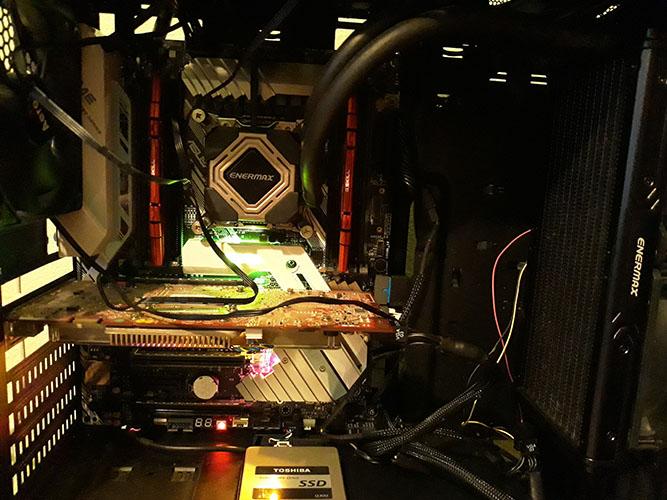 Intel Core i9-7900X detalle interior