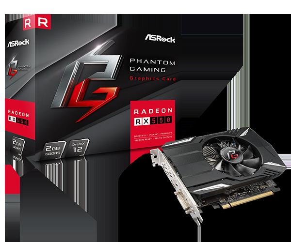 Phantom Gaming Radeon RX550