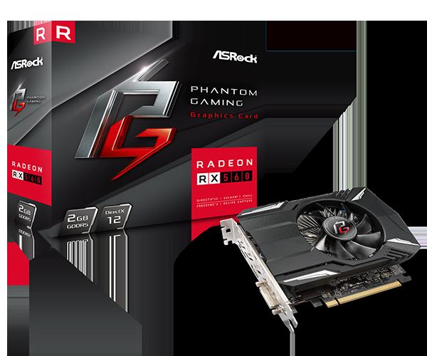 Phantom Gaming Radeon RX560