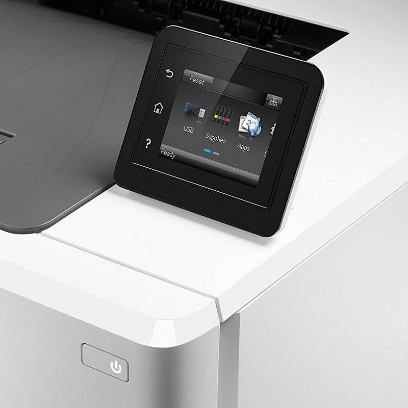 HP LaserJet Pro M254dw, pantalla