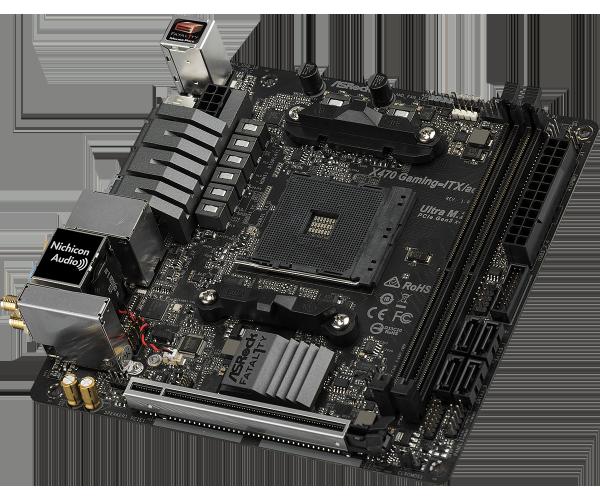 ASRock X470 Fatal1ty Gaming ITX ac