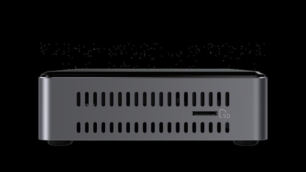 Intel NUC7i7BNKQ, lector de tarjetas