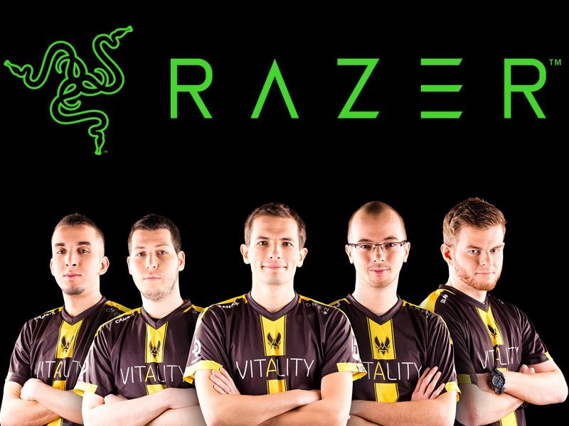 Team Vitality y Razer
