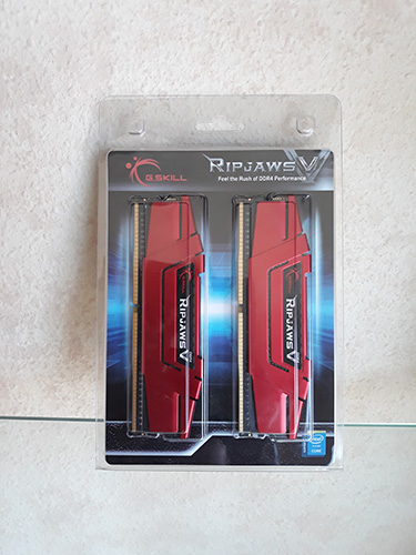G.Skill Ripjaws V Red DDR4 2400 PC4-19200 8GB 2x4GB CL15