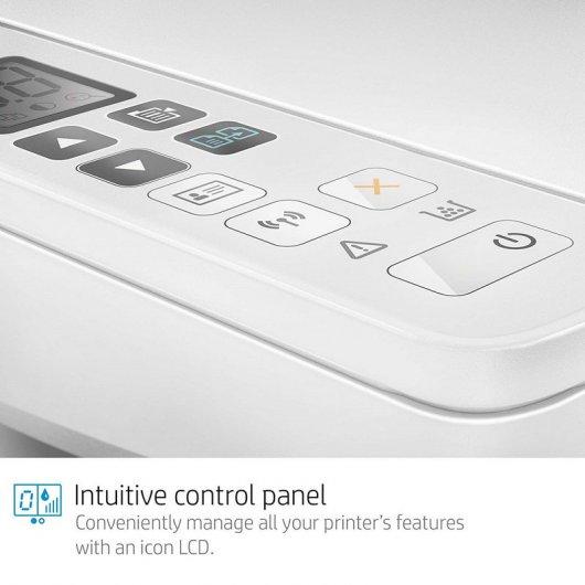 HP LaserJet Pro M28w, panel de control