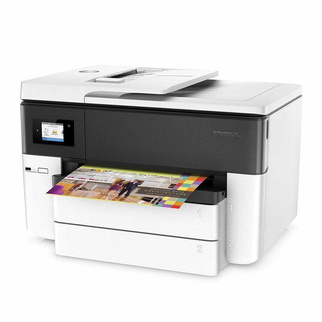 HP OfficeJet Pro 7740, aspecto