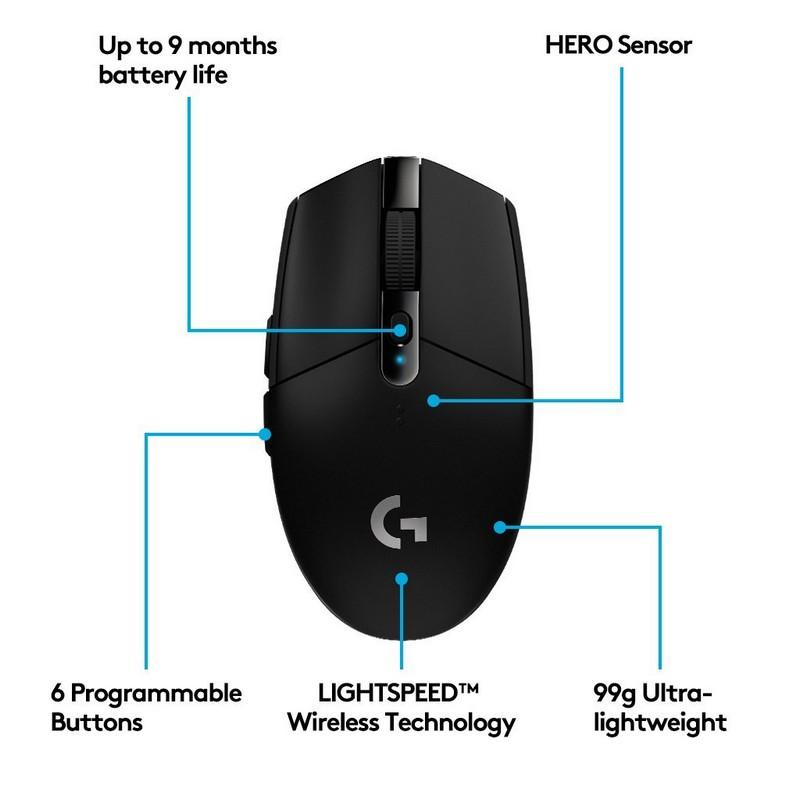 Logitech G305, características