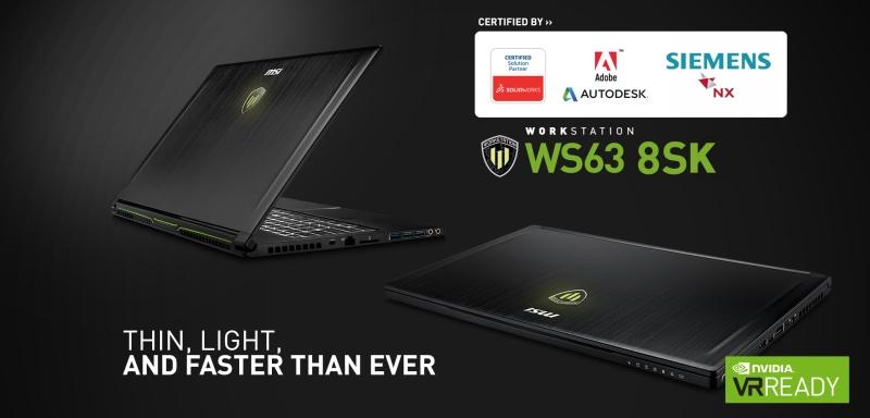 MSI WS63 8SL-013ES