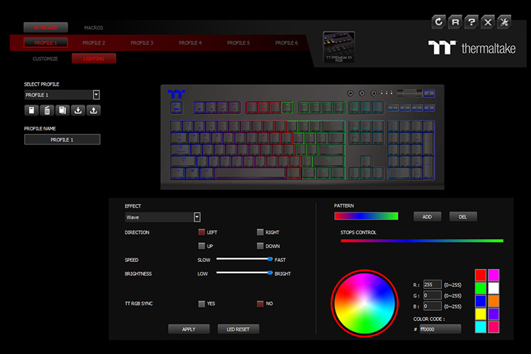 Thermaltake TT Premium X1 RGB